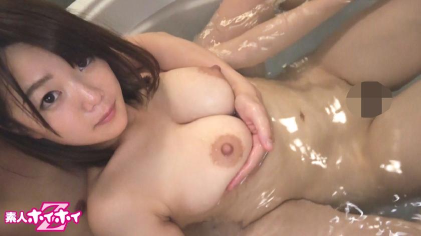 佐知子のJカップ爆乳おっぱい!自然体セックスがエロすぎ【素人ホイホイZ】
